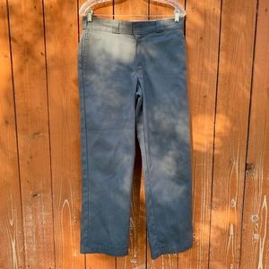 Dickies | Men's Grey Work Loose Fit Pants